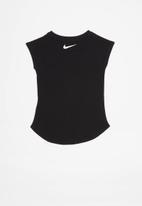 Nike - Nike girls swooshfetti short sleeve tee - black