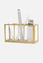 Sixth Floor - Shiloh pen holder - brass