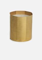 Sixth Floor - Isla candle - gold