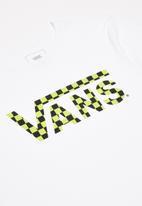 Vans - Classic logo fill boys T-shirt - white