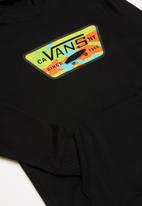 Vans - Full patch fill hoodie - black