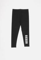 GUESS - Girls basic legging - black