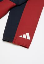 adidas Performance - Youth girls id track top - navy & red