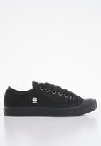 G-Star RAW - Rovulc denim sneakers - black