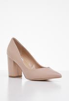 Steve Madden - Portrait leather heel - neutral