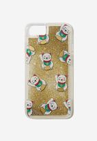 Typo - Shake it iphone case 6,7,8 - gold