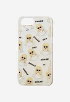 Typo - Shake it iphone case 6,7,8 - multi