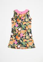 POP CANDY - Printed dress - navy
