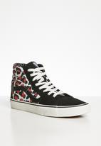 Vans - Ua sk8-hi - (leopard) black/true white
