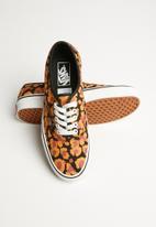 Vans - Ua authentic - (leopard) black/inca gold