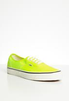 Vans - Ua authentic 44 dx - (anaheim factory) og yellow neon