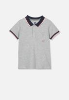 Cotton On - Kendricks polo - grey