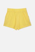 Cotton On - Callie short - yellow