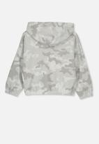 Cotton On - Suvi crop hoodie - grey