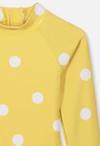 Cotton On - Lydia one piece - yellow & white