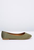 Cotton On - Britt ballet - green