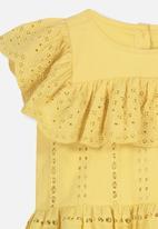 Cotton On - Kiko frill top - yellow