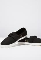 Cotton On - Bow slip on - black
