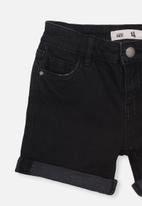 Cotton On - Camilla denim short - black