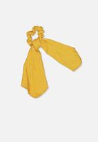 Cotton On - Scarf scrunchie - yellow