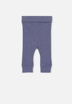Cotton On - The rib legging - blue