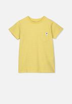Cotton On - Core short sleeve tee - yellow