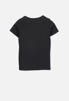 Cotton On - Core short sleeve tee - black