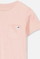 Cotton On - Core short sleeve tee - pink