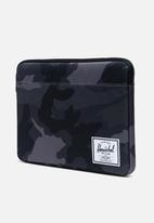 Herschel Supply Co. - Anchor sleeve for 13 inch Macbook - grey & black