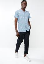 Jack & Jones - Miami resort short sleeve shirt - blue
