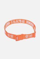 Herschel Supply Co. - Luggage belt - orange