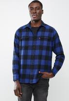 Levi's® - Classic worker shirt - black & blue
