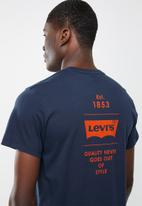 Levi's® - Graphic set in neck 2 tee - blue