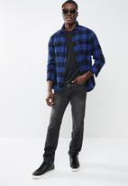 Levi's® - 502 regular taper forklift jeans - black