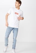 Cotton On - Coke box logo tee - white