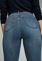 Cotton On - Curve adriana high skinny jean - blue