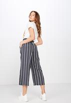 Cotton On - Sophie culotte - navy & white