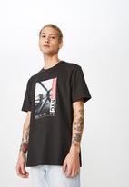 Cotton On - Boroughs NYC T-shirt - black