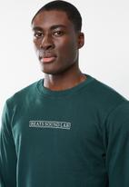 Cotton On - Crewneck fleece sweater - green
