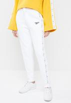 Reebok - Classic vector pants jogger - white