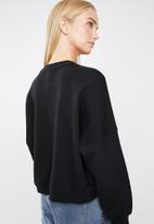 Cotton On - Harper long sleeve sweater  - black