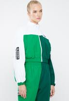adidas Originals - Generalist track top - green & white