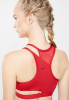 Nike - Nike swoosh rebel slash bra - red