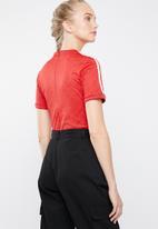 adidas Originals - Short sleeve bodysuit - red