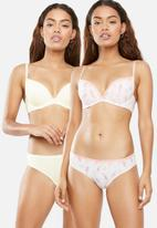 DORINA - Joyce 2 pack push up plunge bra