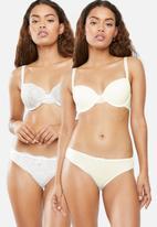 DORINA - Abigail 2 pack briefs - cream
