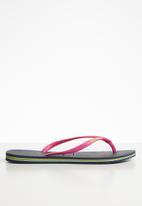 Havaianas - Slim brazil - navy & pink