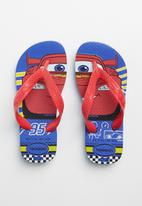 Havaianas - Cars flips flops - red & blue