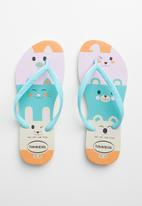 Havaianas - Kids slim fun flip flops - multi