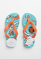 Havaianas - Kids radical flip flops - blue & orange